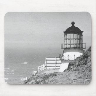 Cape Mendocino Lighthouse Mouse Pad