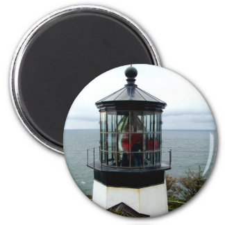Cape Meres Lighthouse 2 Inch Round Magnet