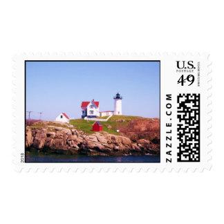 Cape Neddick Light House Stamps