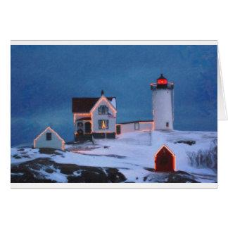 Cape Neddick Light Maine Card