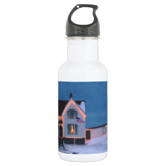 Cape Neddick Light Maine Stainless Steel Water Bottle