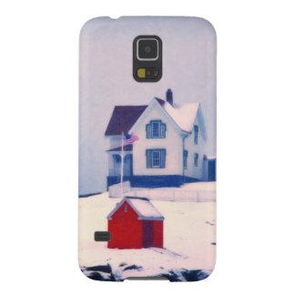 Cape Neddick Light snow Case For Galaxy S5