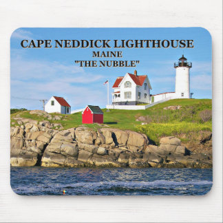 "Cape Neddick Light ""the Nubble"", Maine mousepad"
