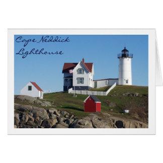 Cape Neddick Lighthouse Card
