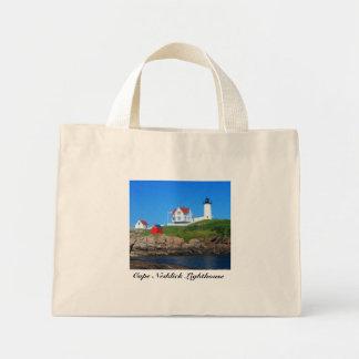Cape Neddick Lighthouse Mini Tote Bag