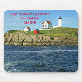 Cape Neddick Lighthouse the Nubble, Maine Mousepad