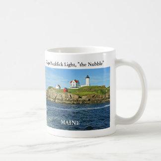 Cape Neddick Lighthouse-the Nubble, Maine Mug