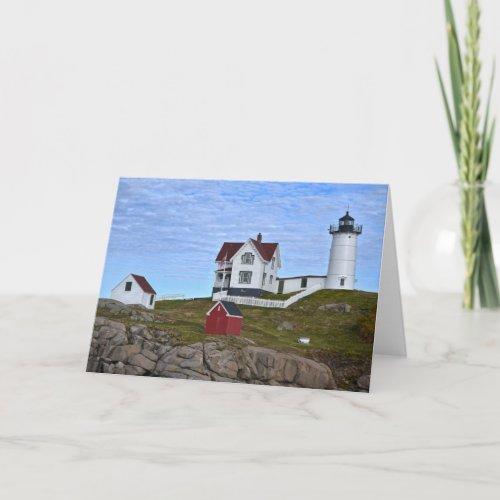 Cape Neddick Lighthouse, York, Maine Card