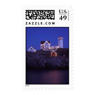 Cape Neddick Lighthouse York Maine Postage Stamps