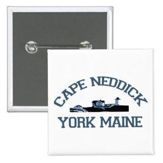 Cape Neddick - Maine. Pinback Button