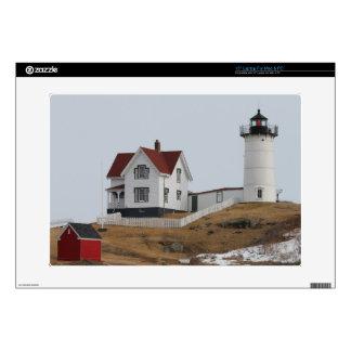 """Cape Neddick - Nubble Light 15"""" Laptop Decals"""