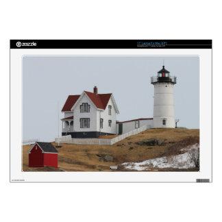 """Cape Neddick - Nubble Light 17"""" Laptop Decal"""