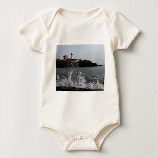 Cape Neddick / Nubble Light Baby Bodysuit