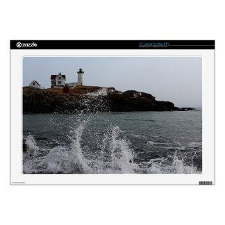"""Cape Neddick / Nubble Light Decal For 17"""" Laptop"""