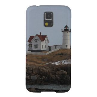 Cape Neddick / Nubble Light in Winter Galaxy S5 Case