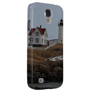 Cape Neddick / Nubble Light in Winter Samsung Galaxy S4 Cover