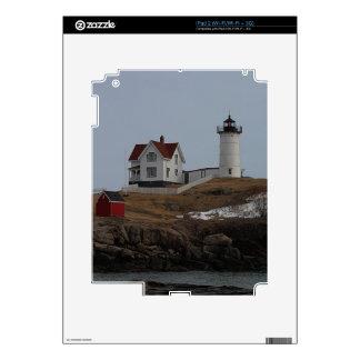 Cape Neddick / Nubble Light in Winter Decal For iPad 2