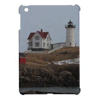 Cape Neddick / Nubble Light in Winter iPad Mini Cover