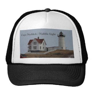 Cape Neddick / Nubble Light in Winter Trucker Hat