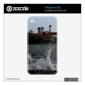 Cape Neddick / Nubble Light iPhone 4S Decal