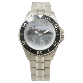 Cape Neddick - Nubble Light Maine Wrist Watches