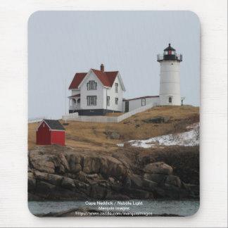 Cape Neddick - Nubble Light Mouse Pad