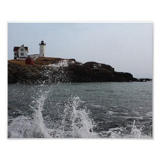 Cape Neddick / Nubble Light Photo Print