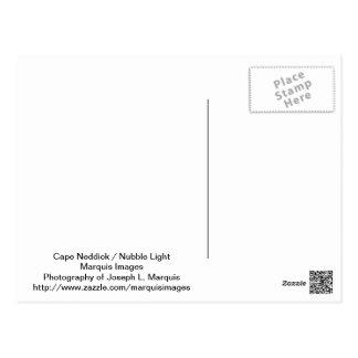 Cape Neddick - Nubble Light Postcard