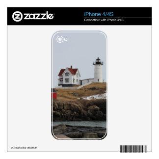 Cape Neddick - Nubble Light Skins For iPhone 4S