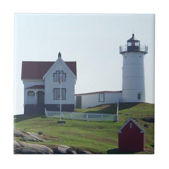 Cape Neddick Nubble Light Tile