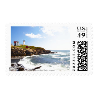 Cape Neddick 'Nubble' Lighthouse in Maine Postage