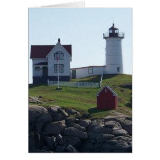 Cape Neddick / The Nubble Light 2 Card