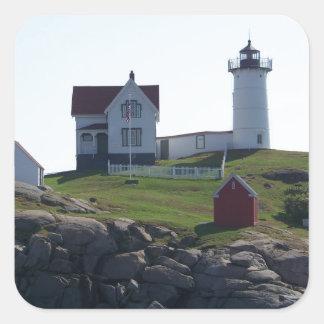 Cape Neddick / The Nubble Light 2 Square Sticker