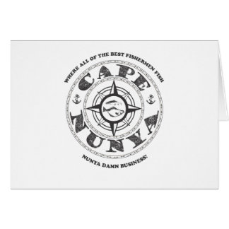 Cape Nunya Card