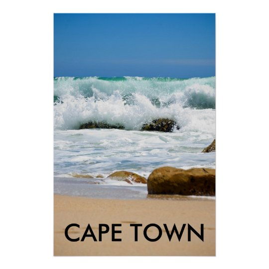 Cape Ocean, CAPE TOWN Poster
