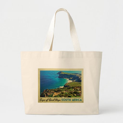 Cape of Good Hope South Africa Large Tote Bag