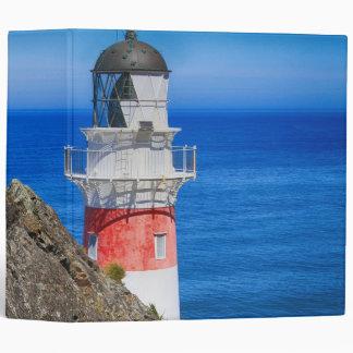 Cape Palliser New Zealand Lighthouse 3 Ring Binder