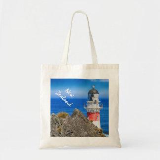 Cape Palliser New Zealand Lighthouse Tote Bag