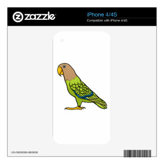 Cape Parrot Skin For iPhone 4S