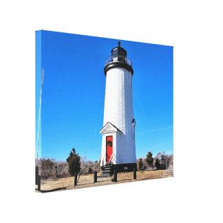 Cape Poge Lighthouse, Massachusetts Canvas Print