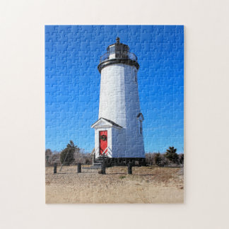 Cape Poge Lighthouse, Massachusetts Chappaquiddick Jigsaw Puzzle