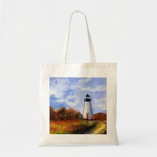 Cape Poge Lighthouse Tote Bag