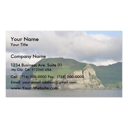 Cape Promontory Business Card