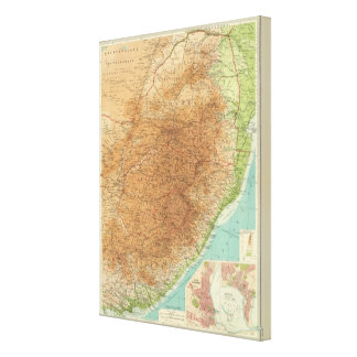 Cape Province, Transvaal, eastern section Canvas Print