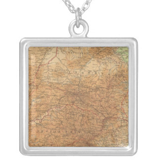 Cape Province, Transvaal, eastern section Silver Plated Necklace