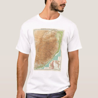 Cape Province, Transvaal, eastern section T-Shirt