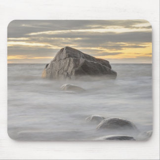 Cape Purakkari sunset Baltic Sea, Estonia Mouse Pad