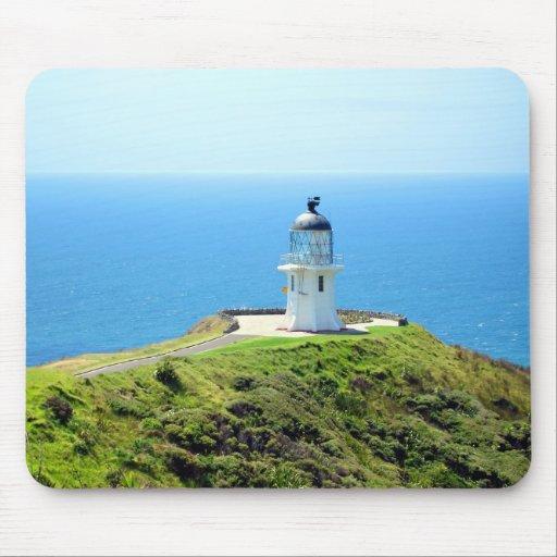 Cape Reinga Lighthouse, Northland, New Zealand Mouse Pad
