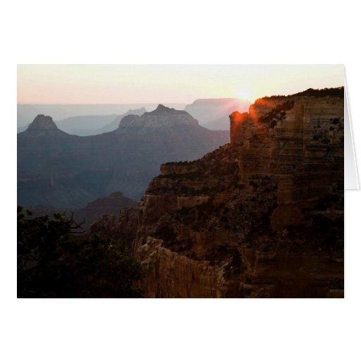 Cape Royal Sunset Card