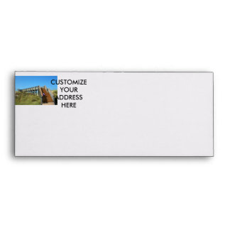 Cape San Blas Boardwalk, Florida beach girl Envelope